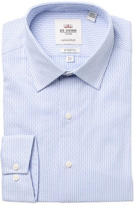 Ben Sherman Striped Tailored Slim Fit Dress Shirt