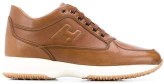 Hogan low top logo sneakers