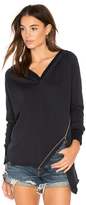525 America Asymmetric Zipper Hoodie