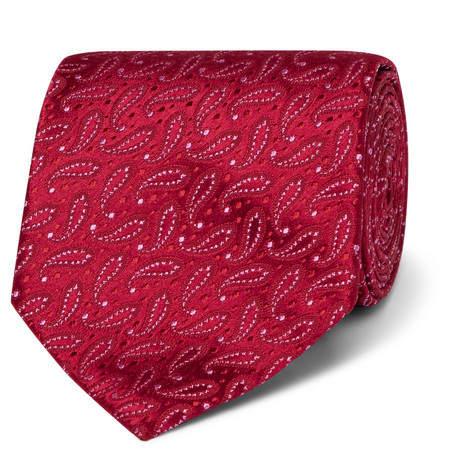 Charvet 8.5cm Paisley Silk-Jacquard Tie
