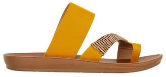 Sandler Gidget Mustard Smooth Sandal
