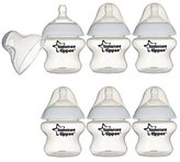 Tommee Tippee Closer to Nature Feeding Bottle 5oz, 6 Pack