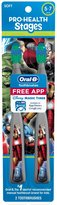 Oral-B Oral B Pro-Health Stages Kids Manual Toothbrush featuring Marvel Avengers with Disney MagicTimer App by Twin Pack