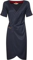 Menashion Pencil Dress No. 707 Blue
