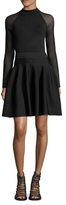 Rachel Roy Fit And Flare Sweater Dress