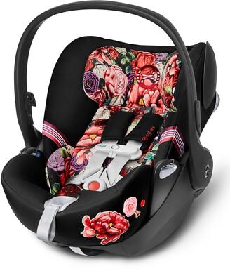 CYBEX Cloud Q SensorSafe(TM) 2.1 Dark Spring Blossom Infant Car Seat & Base