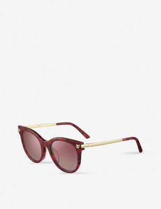 Cartier ESW00468 round-frame sunglasses
