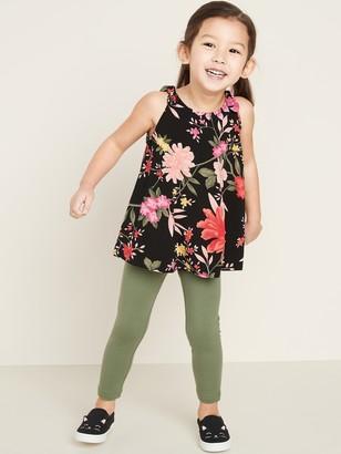 Old Navy Printed Tunic Tank Top & Leggings Set for Toddler Girls
