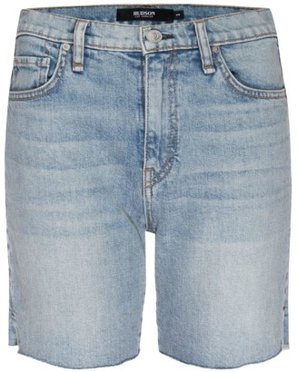 Hudson Hana Mini Denim Biker Shorts