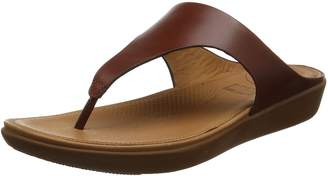FitFlop Women's Banda II Thong Leather Open Toe Sandals
