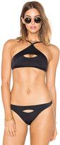 L'Agent by Agent Provocateur Alenya Bikini Top in Black. - size M (also in XS)