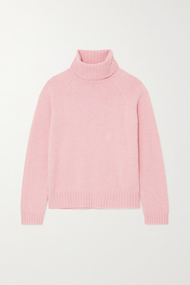Tory Burch Cashmere Turtleneck Sweater - Pink