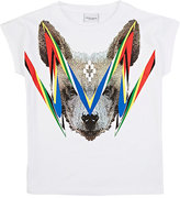 Marcelo Burlon County of Milan HYENA-GRAPHIC T-SHIRT-WHITE SIZE 2