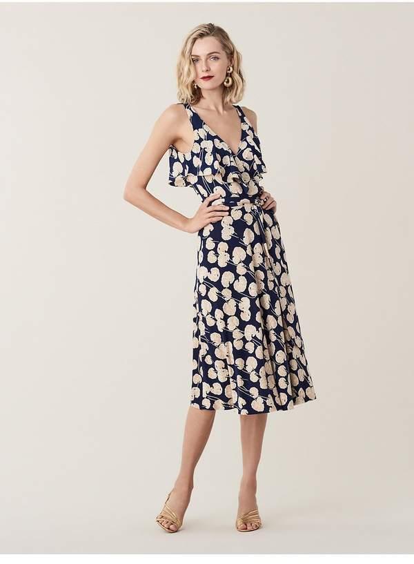 0e68417d025 Silk Jersey Wrap Dress - ShopStyle