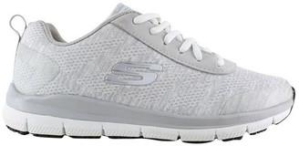 Skechers Comfort Flex SR - HC PRO SR 77217 Light Grey Sneaker