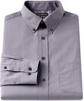Croft & Barrow Big & Tall Classic-Fit Solid Broadcloth Button-Down Collar Dress Shirt