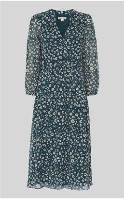 Whistles Adrianne Cheetah Print Dress