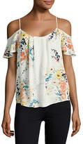 Joie Adorlee Floral-Printed Silk Blouse