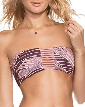 Maaji Oasis Garden Convertible Bandeau Bikini Top