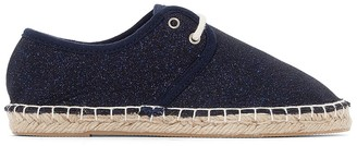 La Redoute Collections Espadrilles with Sparkly Laces