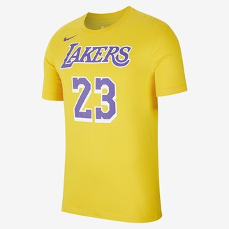 Nike Men's Dri-FIT NBA T-Shirt LeBron James Los Angeles Lakers Dri-FIT