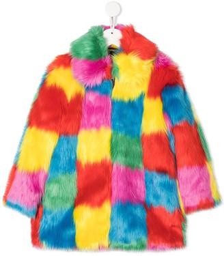 Stella Mccartney Kids Faux Fur Coat