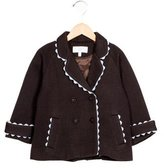 Rachel Riley Girls' Wool-Blend Swing Coat