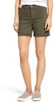NYDJ Petite Women's 'Avery' Colored Denim Roll Cuff Shorts