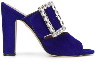 Paris Texas Crystal Buckle Sandals