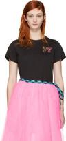 Marc Jacobs Black Classic MTV T-Shirt