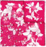 Valentino Garavani Valentino Pop Butterfly scarf - women - Silk/Cashmere - One Size