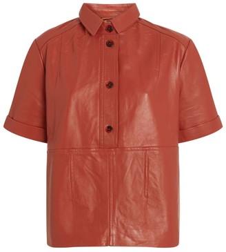 MUNTHE Meaning Leather Shirt