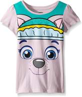 Paw Patrol Toddler Girls Everest Short Sleeve Costume Tee