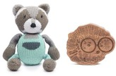 Infant Finn + Emma Ramsay Buddy & Hedgehog Rattle Set