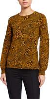 MICHAEL Michael Kors Printed Smocked Sleeve Top