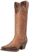 Ariat Women's Heritage X Toe Wingtip Western Cowboy Boot