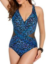 Miraclesuit Purr-fection Crossover One-Piece Swimsuit