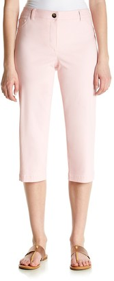 Briggs New York Women's Superstretch Fly Front Five Pocket Capri