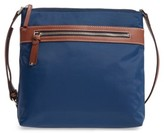 Halogen Nylon Crossbody Bag - Blue
