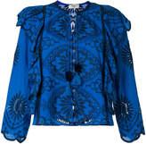 Sea Fiona ruffled blouse