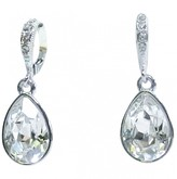 Givenchy Silver Crystal Earrings
