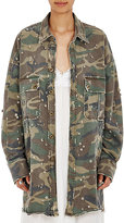 Faith Connexion Women's Camouflage-Print Crystal-Embellished Jacket