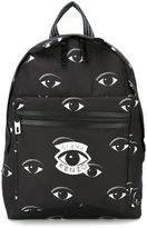 Kenzo 'Sac à dos Eyes' backpack - men - Calf Leather/Nylon - One Size