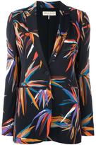 Emilio Pucci floral print jacket - women - Silk/Cotton/Spandex/Elastane/Viscose - 44
