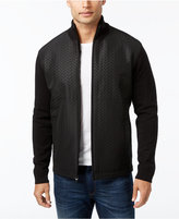 Alfani Men's Multi-Textured Herringbone Jacket, Only at Macy's