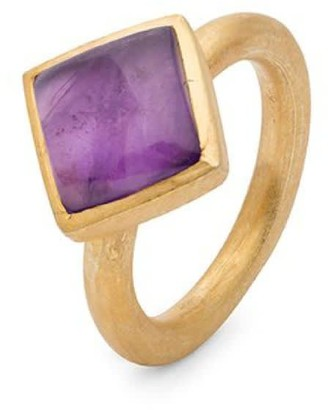 Jaipur Amethyst Stacking Ring