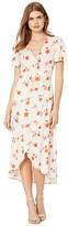 Billabong Floral Fields Dress (Whisper) Women's Clothing