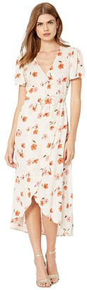 Billabong Floral Fields Dress (Whisper) Women's Clothing