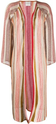 Forte Forte Embroidered Draped Cardigan