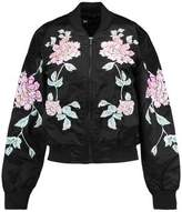 3x1 Wj Embroidered Satin Bomber Jacket